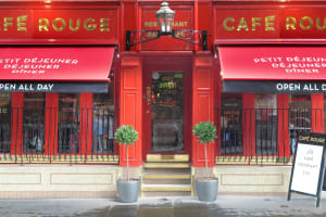 Cafe Rouge Cambridge - Outside front