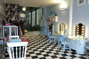 LeKeux Vintage Salon Birmingham - interior