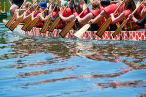 Dragon boat racing