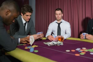 Exclusive Raunchy Poker Night