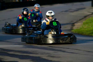 West Country Karting - go karts racing on outdoor track