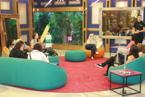 The living room of the big brother house