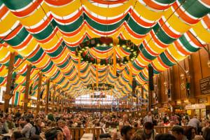 Inside beer tent - Oktoberfest