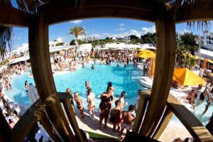 Beach Club Entry