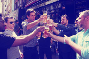Guided Bar Crawl & 5 Beers