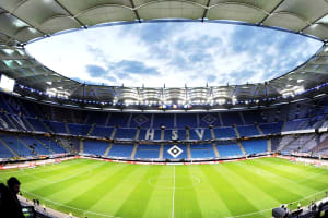 HSV Stadium - inside stadium