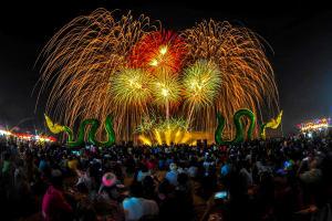 Naga Fireballs Festival
