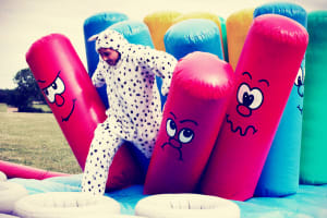 Inflatable Games & Lunch