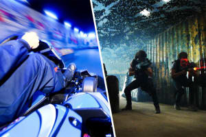 Go Karting & Virtual Warfare
