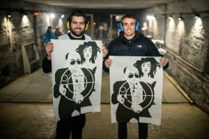 Stag target shooting riga