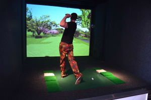 Virtual Indoor Golf Meal & Drinks