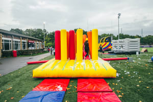 St Peters Rugby Club - Cardiff inflatable