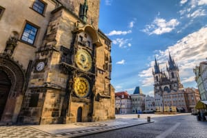 Prague Astronomical Clock - Old Town Square