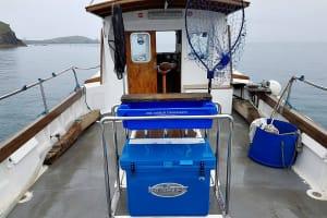 Fishnewquay - Boat interior