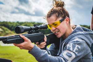 Ultimate 4 Gun Shooting & Grenade Launcher - 87 Bullets