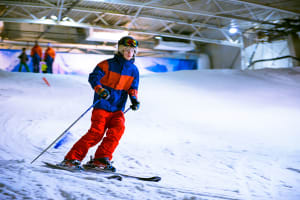 Indoor Snowboarding or Skiing