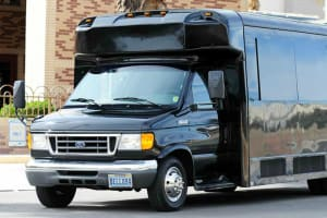 Party Bus Airport Transfer - Pick-up at McCarran International Airport