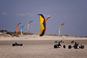 Kite Buggying