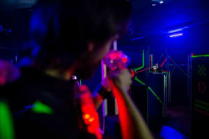 Black Fox Lasertag - interior