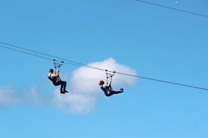 SlotZilla Zip Line Ride