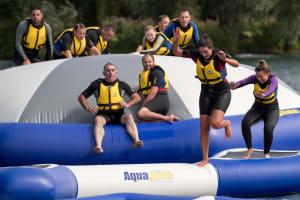 Aqua Relay Race
