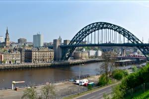 Newcastle River Tyne view