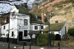 Ye Olde Trip to Jerusalem Pub Nottingham