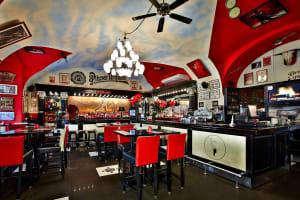 La Casa Argentina - interior of bar