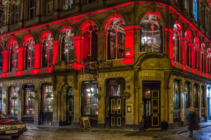 The Cafe Royal Circle Bar - Best Pubs Edinburgh