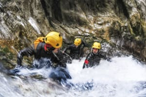 Canyoning in the Mountains