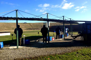 North of England activity centre - clay pigeon shooting