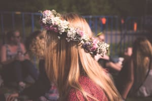 Hen do themes - flower crown