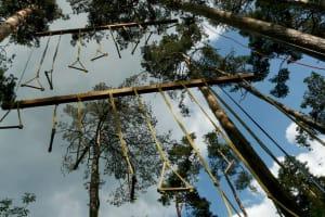 Lanovecentrum - High ropes course