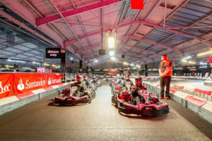 Team Sport Karting Cardiff - Starting grid