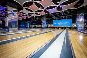 sky bowling wroclaw - bowling lane