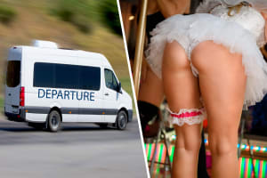 Private Transfer with Fake Bride Stripper at Budapest Ferenc Liszt International Airport