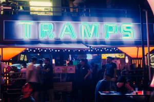 Tramps nightclub - exterior