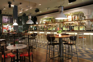 Revolution - Nottingham cornerhouse - bar stools