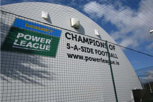 Power league Dublin - exterior of power league