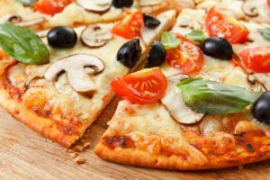 Italian meal - pizza