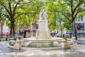 Leicester Square London **editorial**