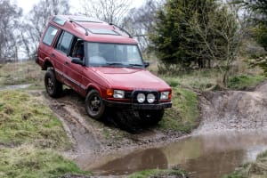 4x4 offroad driving