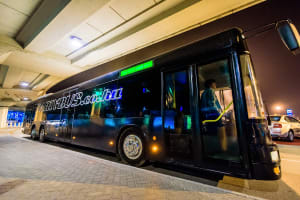 Party Bus Airport Transfer at Budapest Ferenc Liszt International Airport