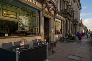 Hard Rock Cafe Edinburgh_Patio