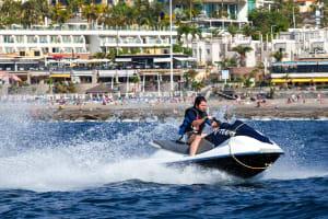 Watersports Tenerife - Jet ski on the sea