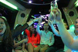 Limousine, Hummer, Party Bus, Budapest