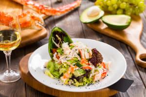 Crab and Avocado