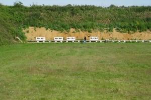 Wedgnock Rifle Range - Outdoor field