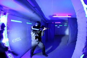 Underground Lasergame - Interior