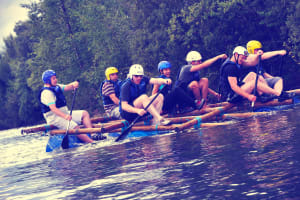 Raft Building & Racing